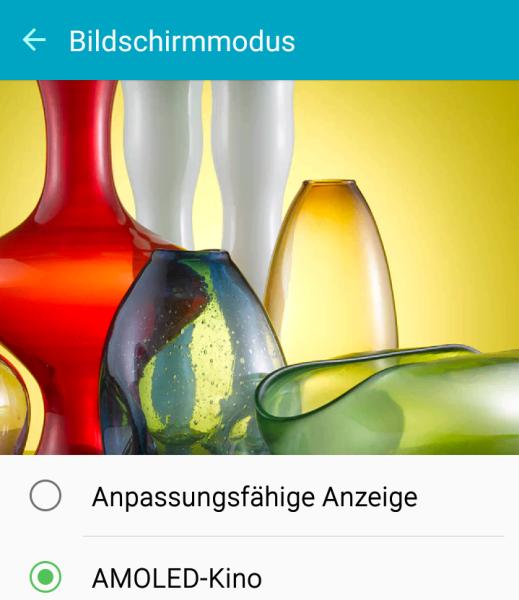 Samsung Galaxy A3 Anzeige Anpassung