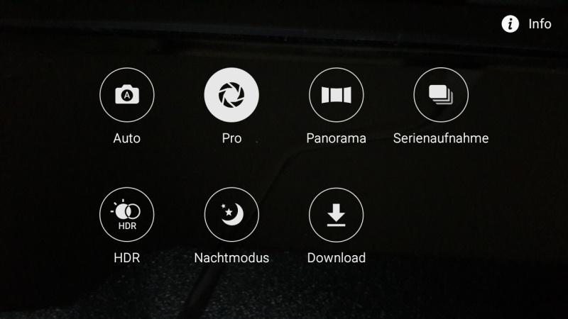 Samsung Galaxy A3 Modus Kamera