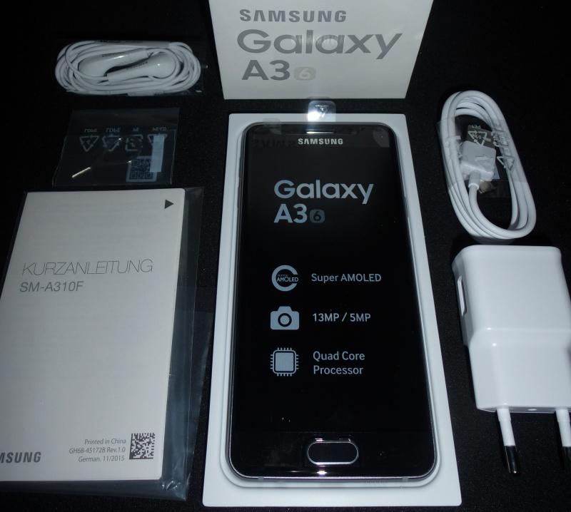 Samsung Galaxy A3 Lieferumfang