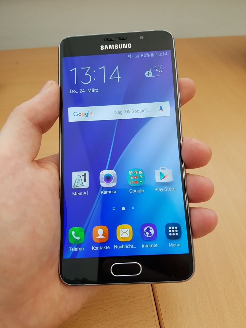 Samsung Galaxy A5 Haptik Design Test
