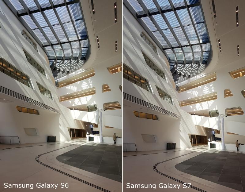 Galaxy S6 vs. S7 Kamera Vergleich Indoor