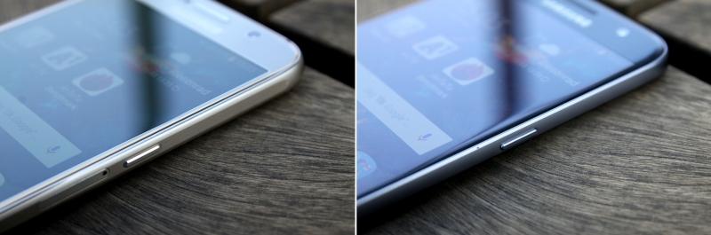 Samsung Galaxy S6 vs. S7 Verarbeitung, Kanten