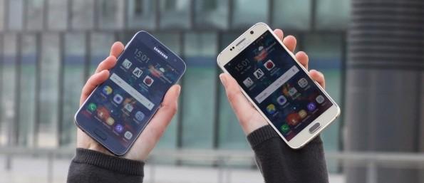 Samsung Galaxy S6 vs. S7 Vorschau Test