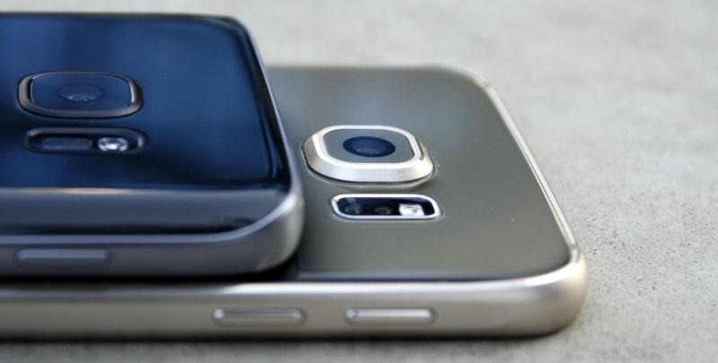 Kamera Vergleich S6 und S7 Test Foto Kamera