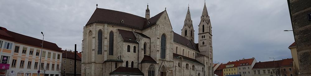 Samsung Galaxy S7 Kamera Test Panorama Foto vom Dom in Wiener Neustadt