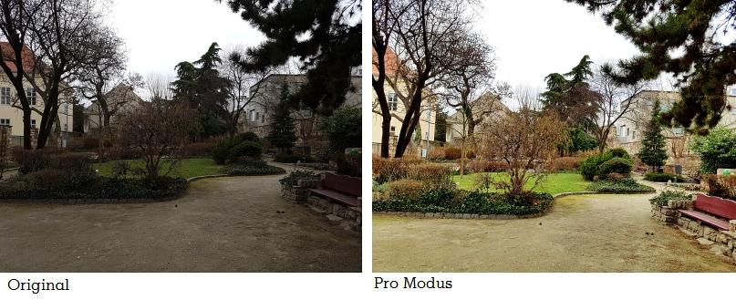 Samsung Galaxy S7 edge Kamera Vergleich Foto Pro Modus