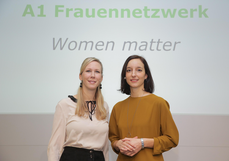A1 Frauennetzwerk, Women Matter, Gründerinnen, Moderatorinnen, Ana Simic, Nina Leindecker-Purrer