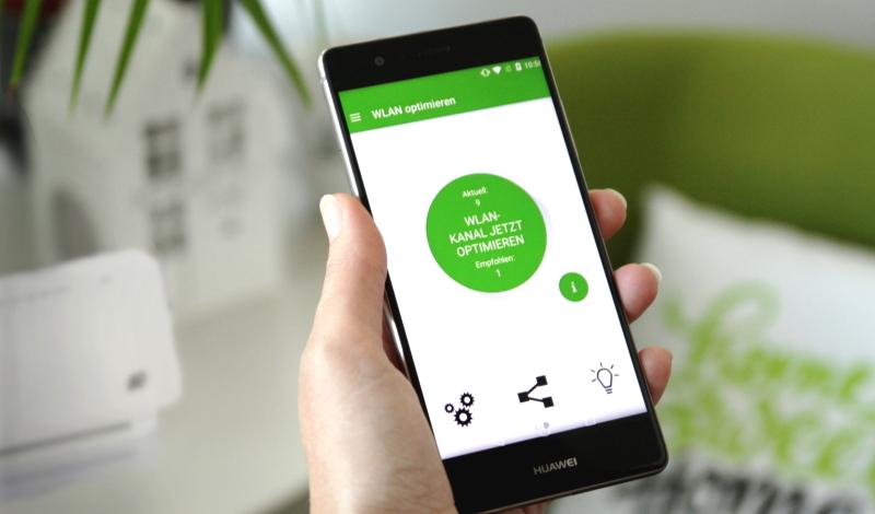 A1 WLAN Manager App um die WLAN Verbindung am Smartphone zu optimieren