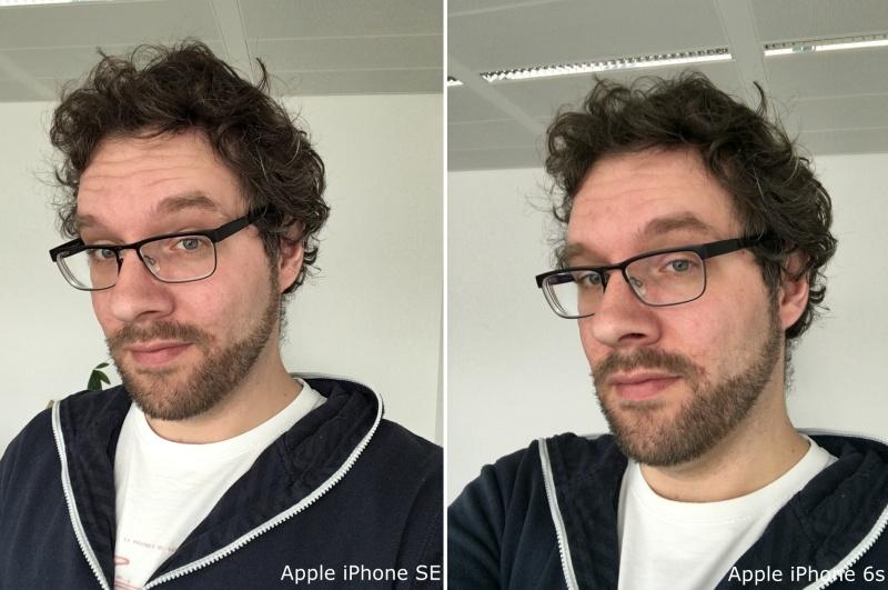iPhone SE iPhone 6s Vergleich Selfie Kamera