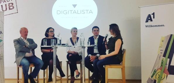 Digitalista Netzwerktreffen Podiumsdiskussion A1