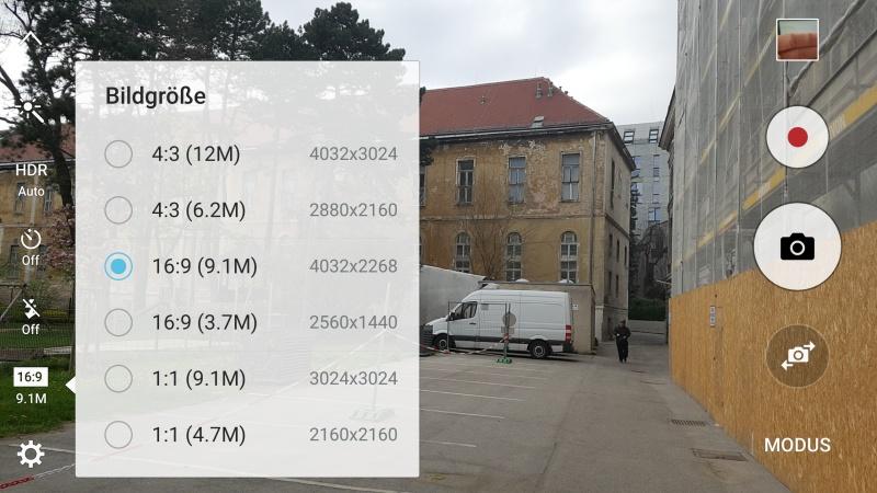 Galaxy S7 Kamera Tipp Auflösung