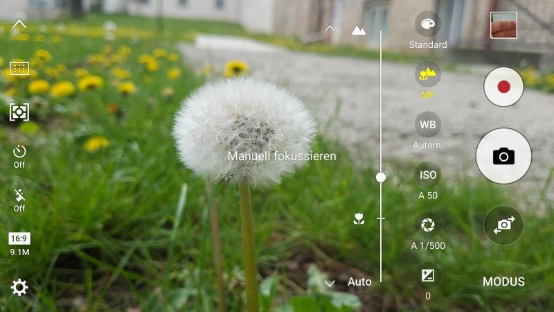 Galaxy S7 Pro Modus