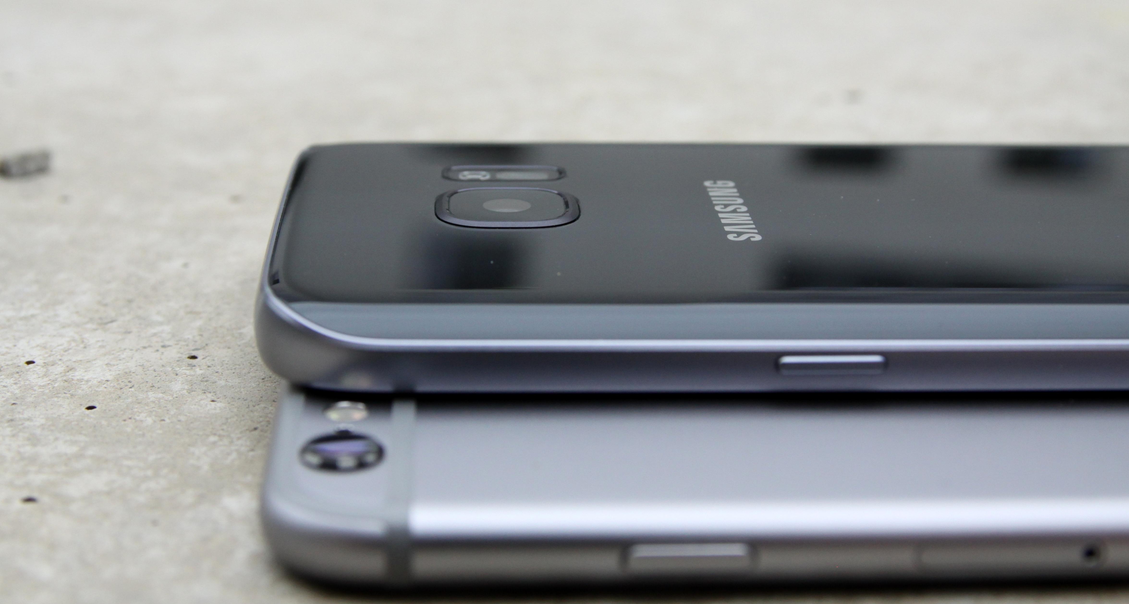 Vergleich Galaxy S7 Und Iphone 7