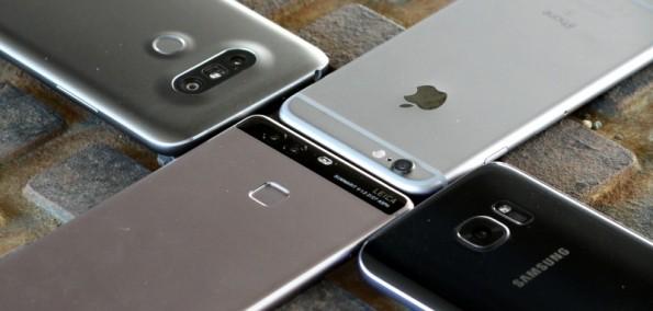 Vergleich Kamera Verarbeitung Apple iPhone 6s S7 LG G5