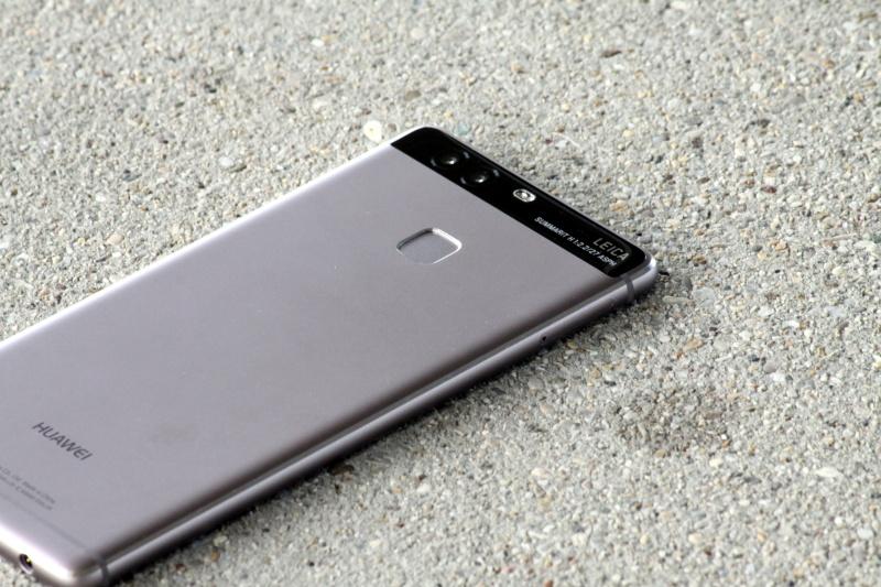 Huawei P9 Rückseite Fingerabdrucksensor