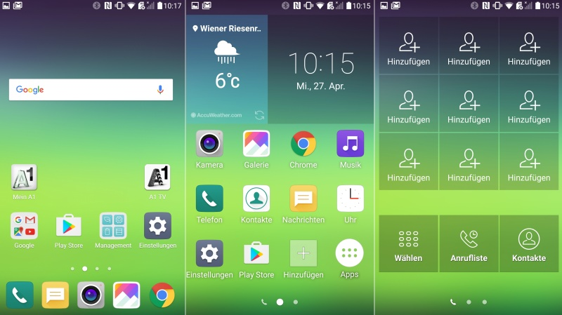 LG G5 App Drawer