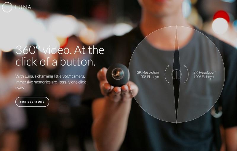 Luna - 360 Grad Videos für jeden