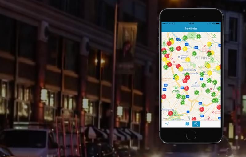 Nie wieder Parkplatz suchen mit der Parkbob App