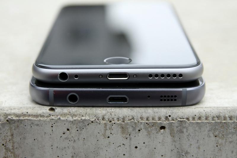 Galaxy S7 vs. iPhone 6s Vergleich Größe