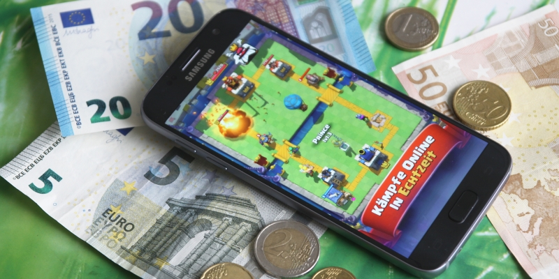 In App Käufe können auch bei gratis Apps hohe Kosten verursachen
