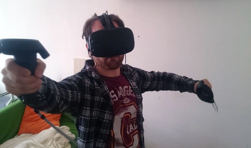 HTC Vive im Test - in Action
