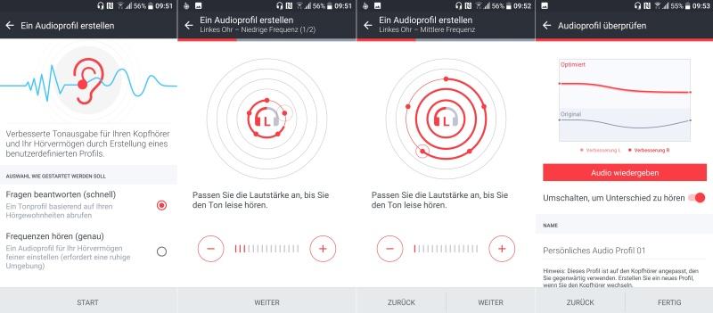 Kopfhörer Einrichtung HTC 10