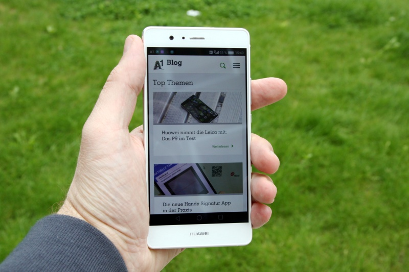 Huawei P9 lite Haptik