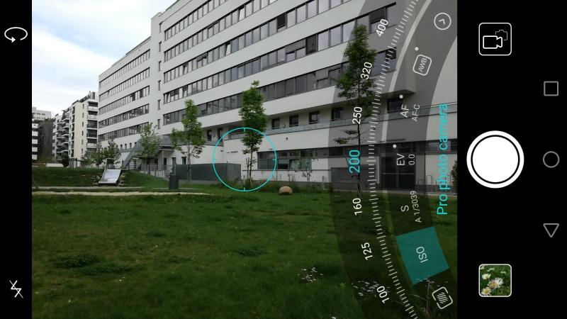 Huawei P9 lite Profi Modus Kamera