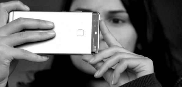 Huawei P9 monochrom Modus