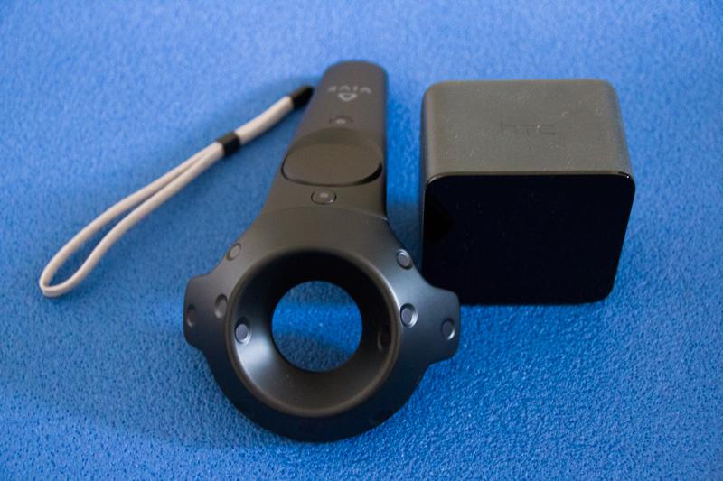 HTC Vive im Test - Boxen und Controller