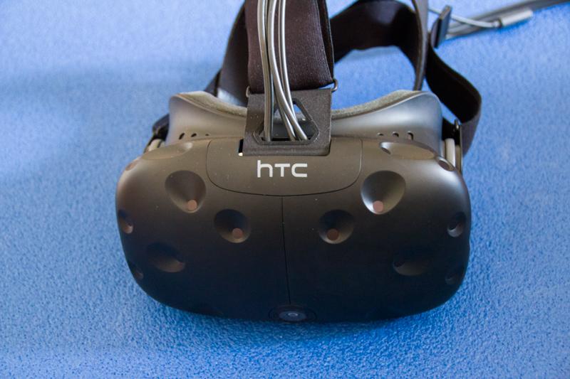 HTC Vive im Test - Brille