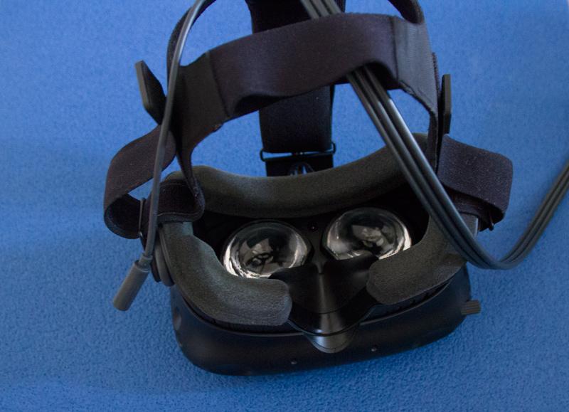 HTC Vive im Test - Brille innen