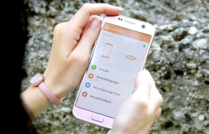 Samsung Charm mit dem Galaxy S7 via Bluetooth verbinden