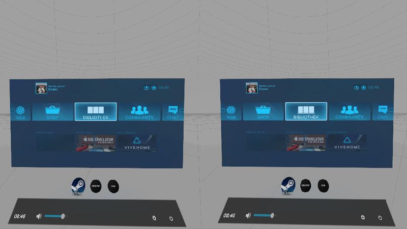 HTC Vive im Test - Ansicht von Innen
