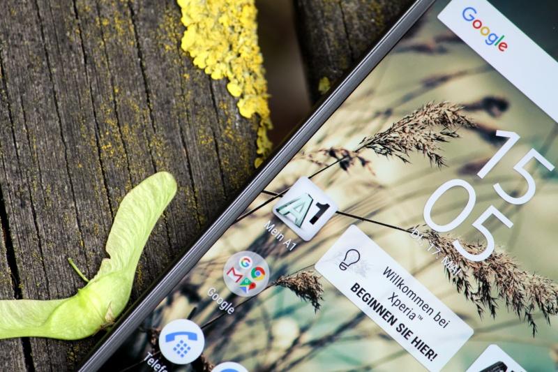 Sony Xperia X Bildschirm