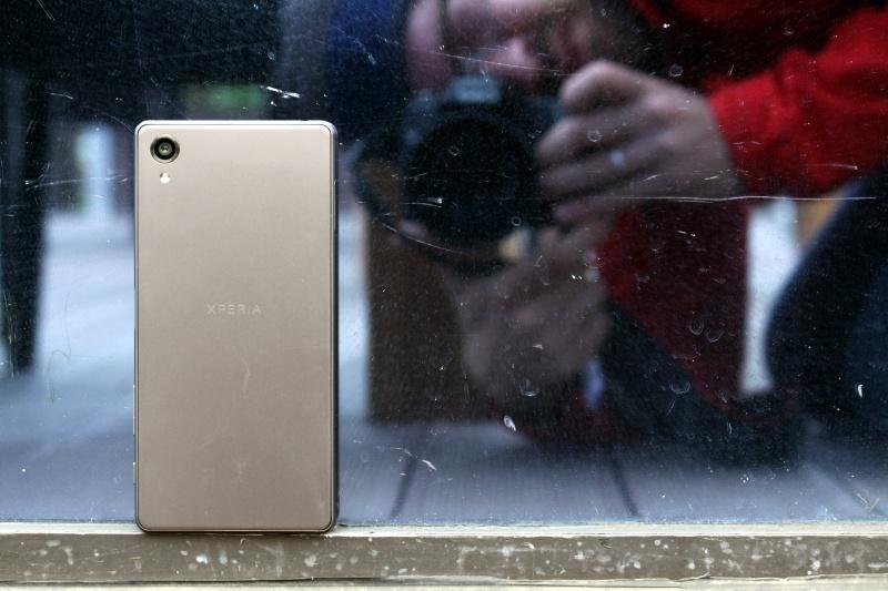 Sony Xperia X Rückseite