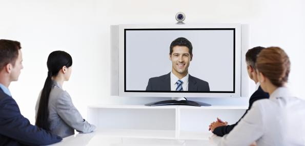 Virtuelle Zusammenarbeit bei Videokonferenzen