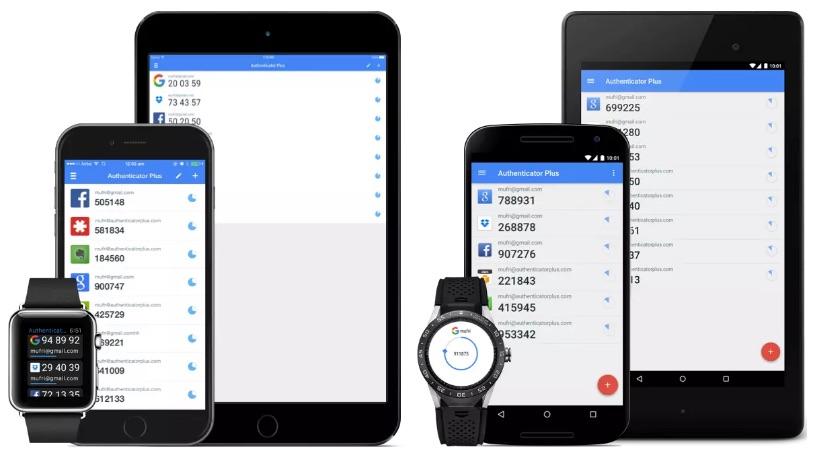 Authenticator Plus App für Zwei-Faktor-Authentifizierung