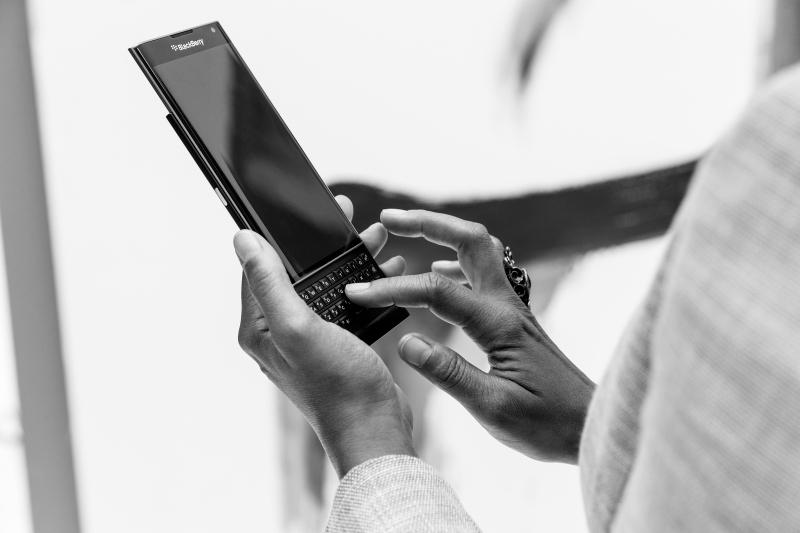 BlackBerry PRIV Tastatur - per Streichgeste tippen | Foto © BlackBerry