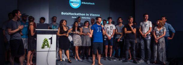 Erster BotsHackathon Vienna bei A1