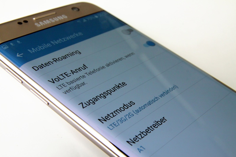 VoLTE Galaxy S7