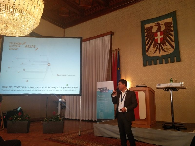 Vortrag Phat Huynh M2M IoT Forum 2016 Wiener Rathaus