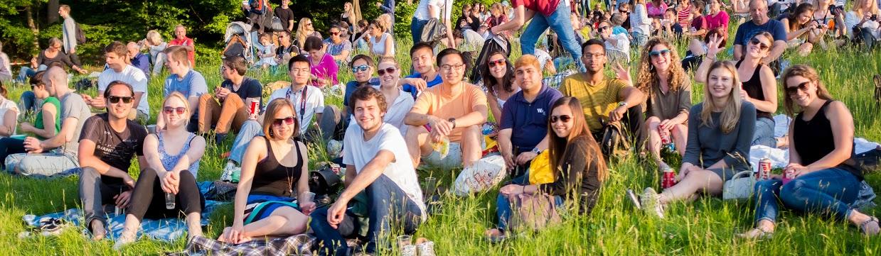 Studenten-WU-Wien-Wiese