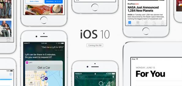 iOS 10 Vorschau