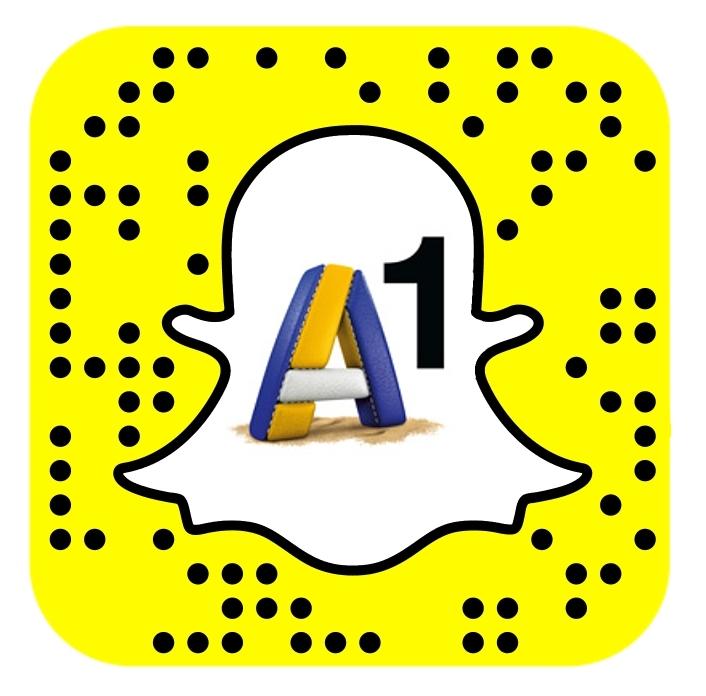 A1 Snapcode für den Snapchat Kanal einfachA1