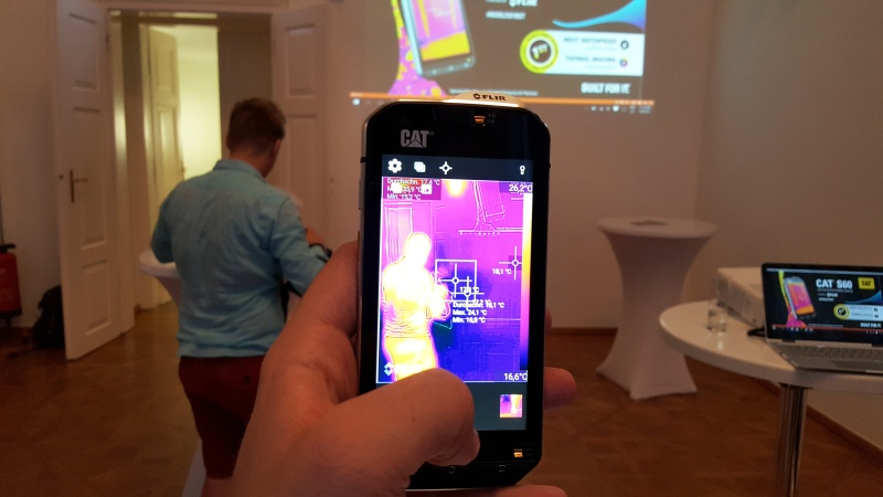 CAT S60 Android-Smartphone im Test - Foto © A1 Blog