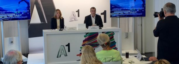 Pressekonferenz A1 Hybrid Boost