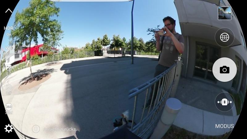 Kamera App Gear 360