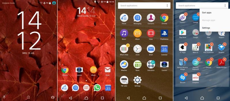 Sony Xperia XA Android