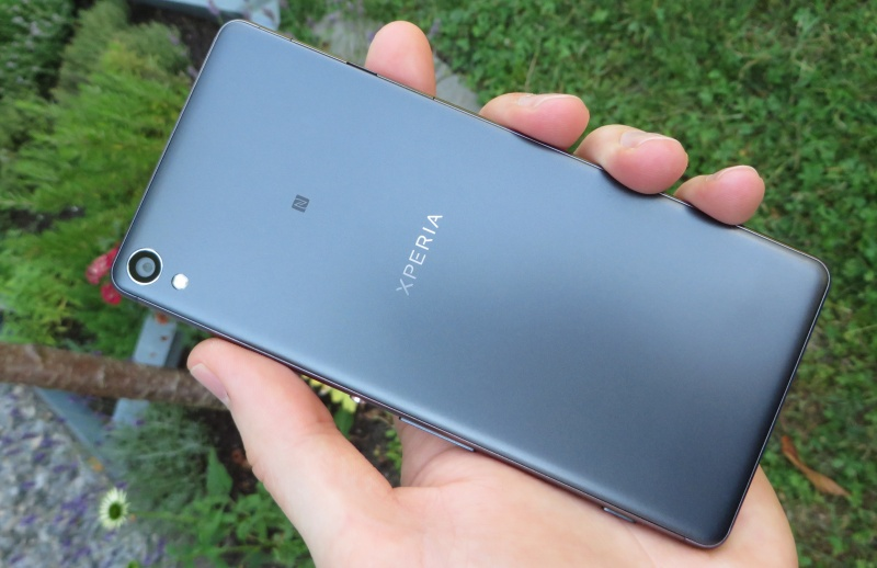 Sony Xperia XA Rückseite